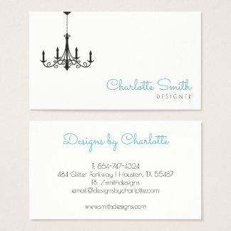 Modern Chandelier Business Card