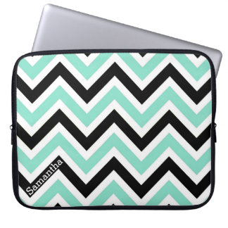 Modern Chevron Custom Laptop Bag