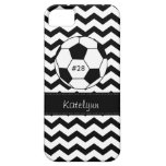 Modern Chevron Zigzag Soccer Phone Case Cover iPhone 5 Case