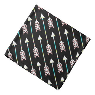 Modern Chic Aztec Hipster Tribal Arrows Bandana