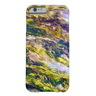 Modern Chic Colorful Wood Grain Photo Pattern Barely There iPhone 6 Case
