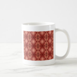 Modern Chic Dusty Rose Peach Patterns Shapes Coffee Mug