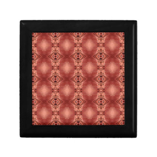 Modern Chic Dusty Rose Peach Patterns Shapes Gift Box