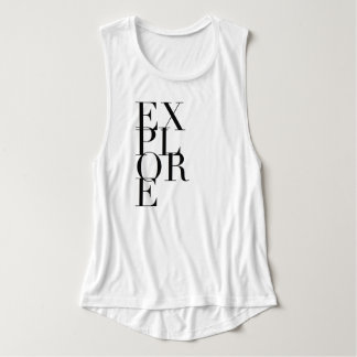 Modern Chic Explore | Typography | Muscle Tank