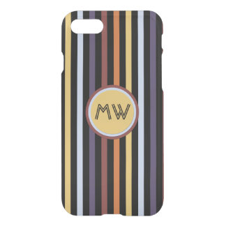 Modern chic manly pattern iPhone 7 case