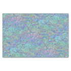 Modern Chic Pastel Colours Marble Mosaic Pattern Tissue Paper