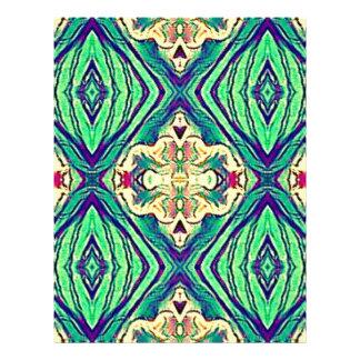 Modern Chic Pastel Pattern Letterhead