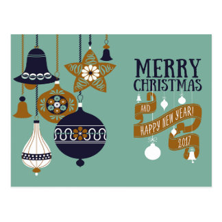 Modern Christmas Greeting Card