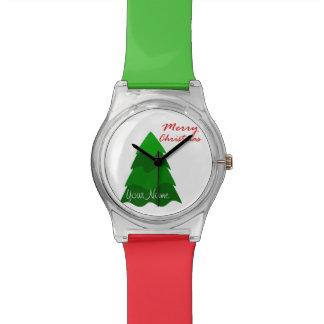 Modern Christmas Tree Watch