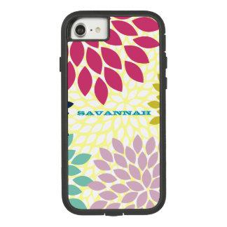 Modern Chrysanthemum Personalized iPhone Case