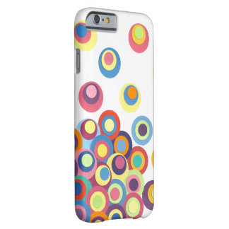 Modern Circle Design Barely There iPhone 6 Case