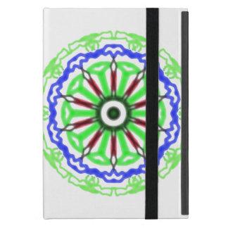 Modern circle pattern iPad mini covers