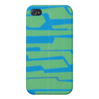 Modern Circuit V iPhone 4 Cover