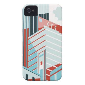 Modern City iPhone 4 Case