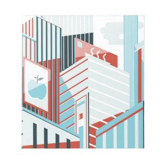 Modern City Notepad