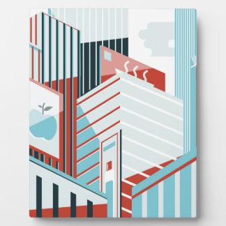 Modern City Plaque