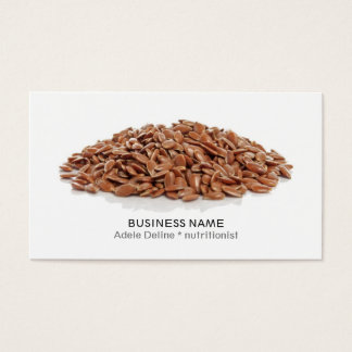 Modern Clean Dietitian Nutritionist Coach Business Card