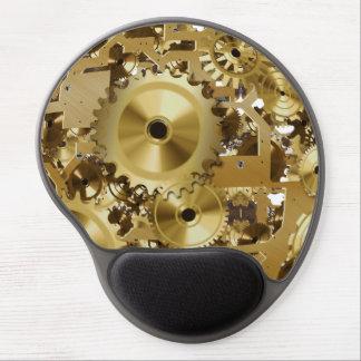 Modern Clock Engine Gel Mousepad