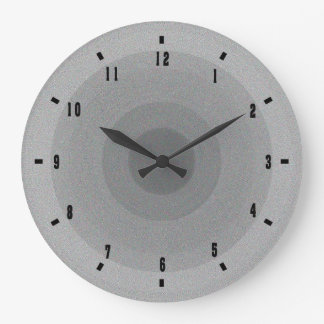 Modern Clock in Gray