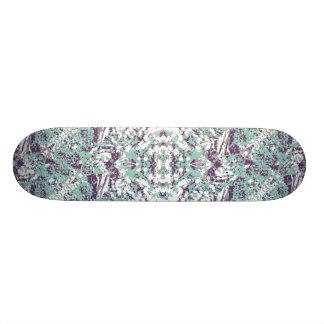 Modern Collage Pattern Mosaic Skateboard