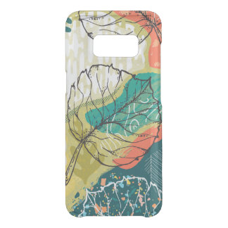 Modern Colorful Abstract Collage Uncommon Samsung Galaxy S8 Case