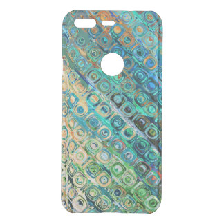 Modern Colorful Abstract Design Uncommon Google Pixel Case