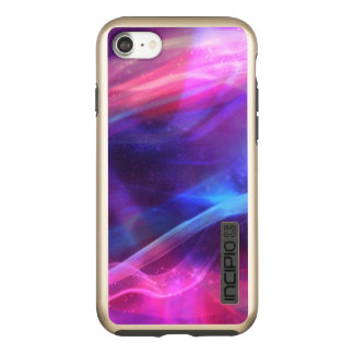 Modern Colorful Abstract Fractal Incipio DualPro Shine iPhone 7 Case