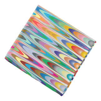 Modern Colorful Abstract Pattern Bandana