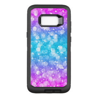 Modern Colorful Bokeh Glitter GR2 OtterBox Defender Samsung Galaxy S8+ Case