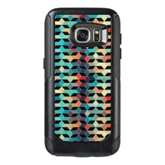 Modern Colorful Cubes Pattern OtterBox Samsung Galaxy S7 Case