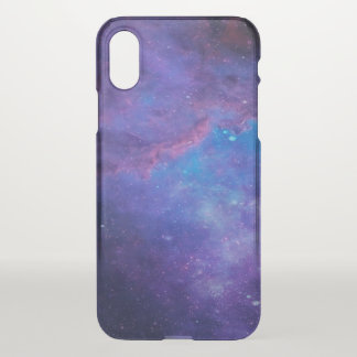 Modern Colorful Deep Space Background iPhone X Case