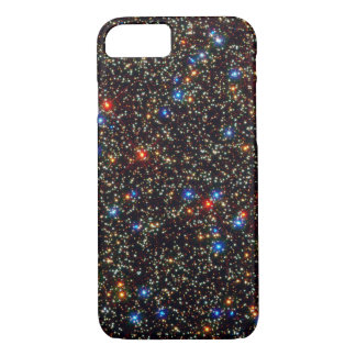 Modern Colorful Deep Space Lights & Sparkles iPhone 7 Case