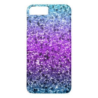 Modern Colorful Faux Glitter GR 1 iPhone 8 Plus/7 Plus Case