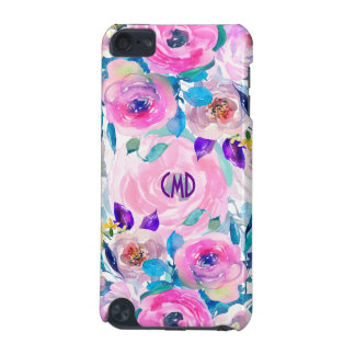 Modern Colorful Flowers Collage GR8 iPod Touch (5th Generation) Cases