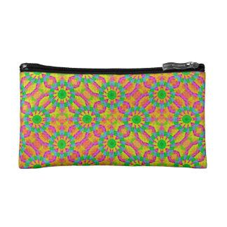 Modern Colorful Geometric Cosmetics Bags