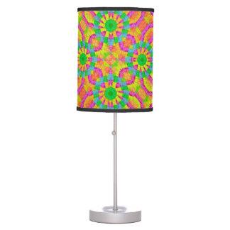 Modern Colorful Geometric Desk Lamp