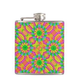 Modern Colorful Geometric Flask