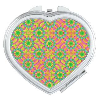 Modern Colorful Geometric Makeup Mirror