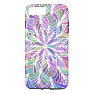 Modern Colorful Geometric Mandala iPhone 7 Plus Case