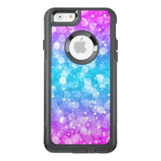 Modern Colorful Glam Bokeh Glitter OtterBox iPhone 6/6s Case