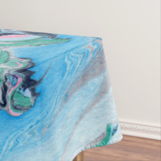 Modern Colorful Marble Stone Tablecloth