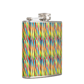 Modern colorful pattern flasks