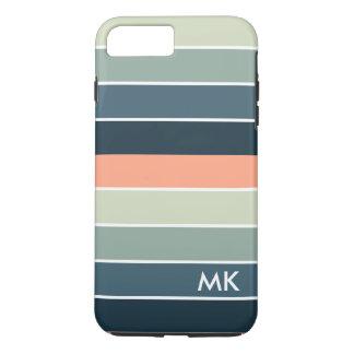 Modern Colorful Stripes Geometric Design iPhone 8 Plus/7 Plus Case
