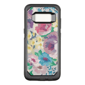 Modern Colorful Summer Flowers Illustration OtterBox Commuter Samsung Galaxy S8 Case