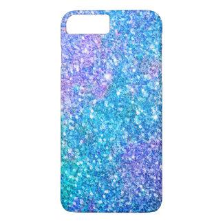 Modern Colorful Trendy Glitter Print iPhone 8 Plus/7 Plus Case