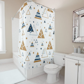 Modern Colorful Triangles Pattern