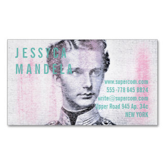 Modern Colors Magnetic Business Card