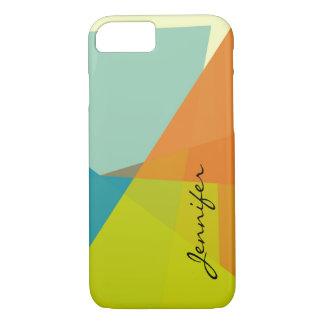 Modern Colors Mosaic Geometric Pattern iPhone 7 Case