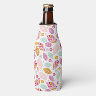 modern,colourful,leaf pattern,trendy,girly,cute,pr bottle cooler