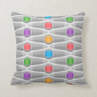 Modern Contemporary Abstract Pattern Throw Pillow